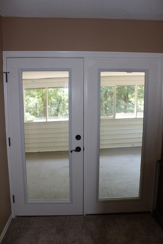 Patio Doors in Master